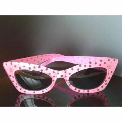 Pink Leopard Print Glasses