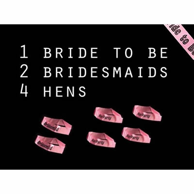 Hen Party Sash Bundle