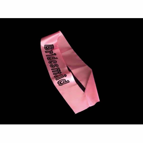 Pink Hen Party Bridesmaid Sash