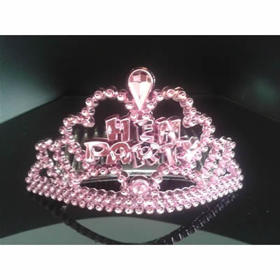 Hen night mini tiaras set of 6