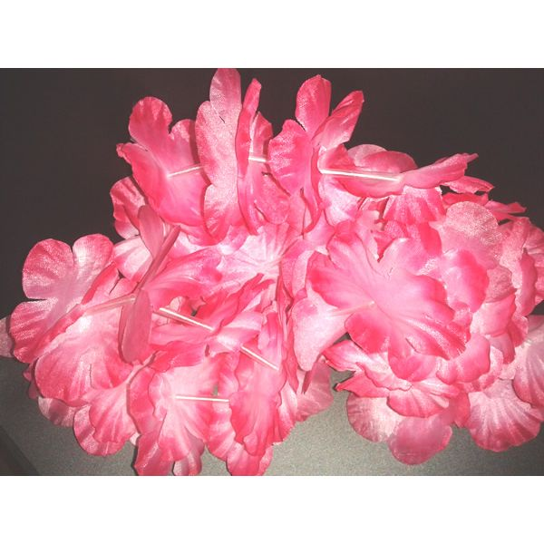 Pink Flower Lei