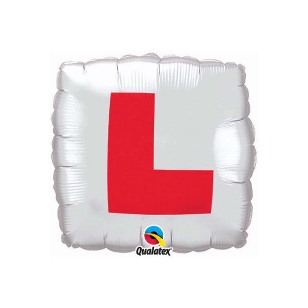 L-plate Design Foil Balloon