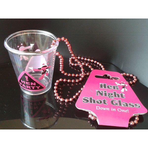 Hen Night Shot Glass