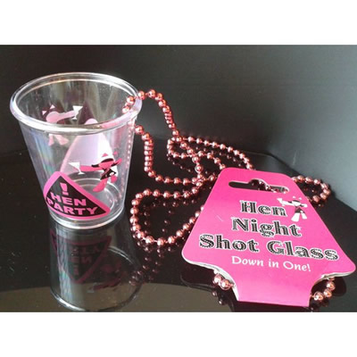 Hen Night Shot Glass